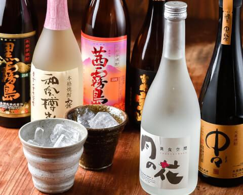 飲み放題 月の花 天神 居酒屋 福岡 中州