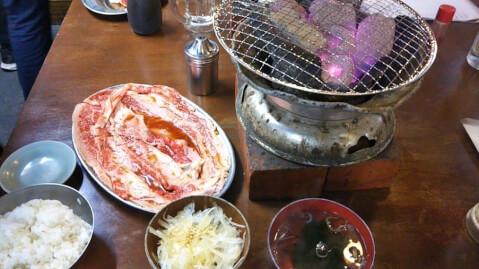 焼肉定食 ホルモンまさる 田町 ランチ おすすめ 西口 和食