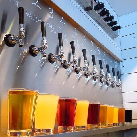 名古屋 名駅 居酒屋 ビアバー 7DAYS Craft Kitchen ビアタップ クラフトビール
