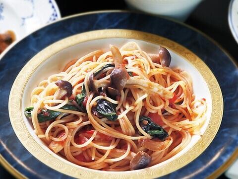 キノコのスパゲティ 西洋厨房 れんが亭 岡山駅 ランチ おすすめ