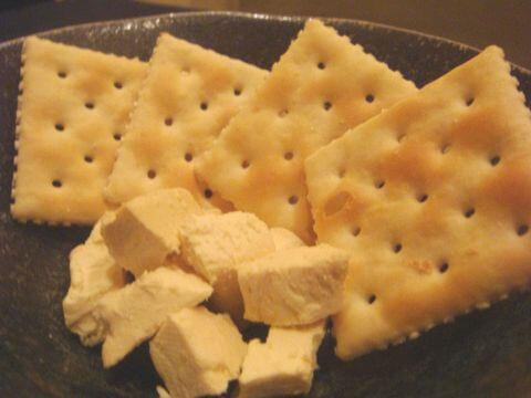 漬けクリームチーズ 酒の大桝 雷門店 浅草 居酒屋 おすすめ 日本酒 和食
