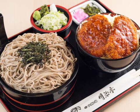 ソースカツ丼ランチセット