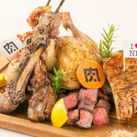 肉ソン大統領の盛り合わせ 肉バル肉ソン大統領秋葉原店 東京 おすすめ 肉バル