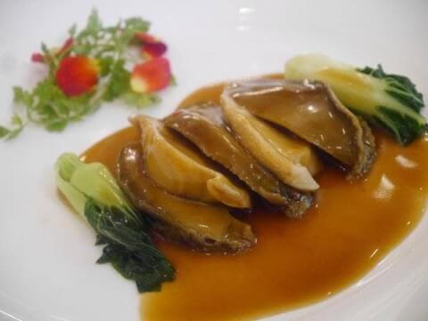 おすすめの広東料理、干鮑