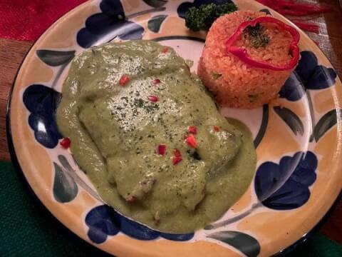 おすすめのメキシコ料理、モーレヴェルデ