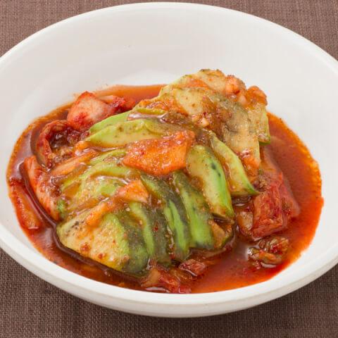 品川 ディナー 韓韓市場 アボカドキムチ