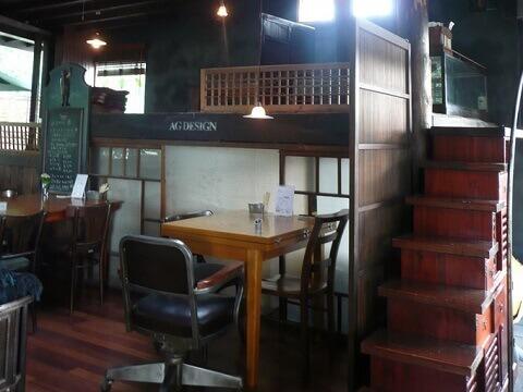 AGカフェ_店内