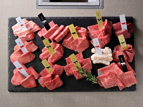 渋谷 焼肉 エイジングビーフ お肉盛り合わせ