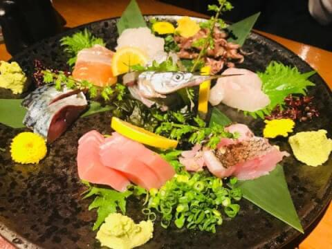 庵GuRi5566 渋谷 居酒屋 和食 海鮮 刺身