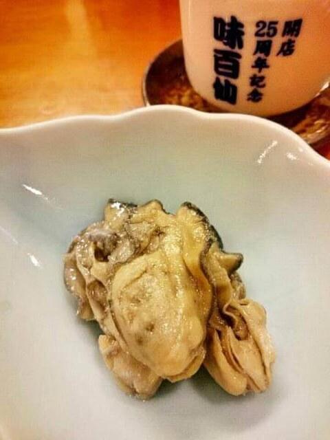 味百仙_札幌_居酒屋_牡蠣とゴルゴンゾーラのオイル漬け