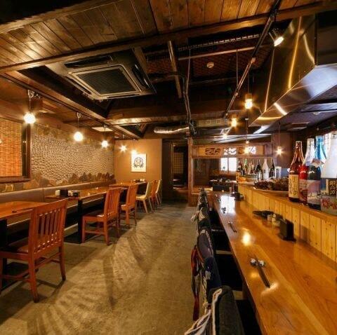 国分町の海鮮が安いおすすめ居酒屋、個室付きの赤猿