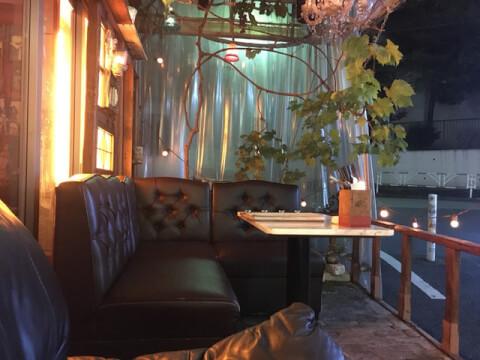 カップルシート Zand people(アンド ピープル)渋谷 おすすめ カフェ おしゃれ デート 女子会
