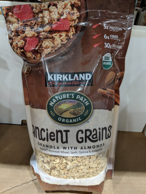 KS オーガニック グラノーラ 1kg KS ORG ANCIENT GRAINS GR