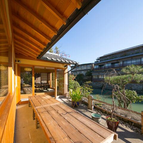 嵐山亭の庭園 嵐山 おすすめ ランチ 和食