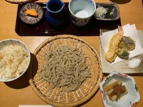 阿佐ヶ谷 おすすめ ランチ そば 柿ざわ 和食