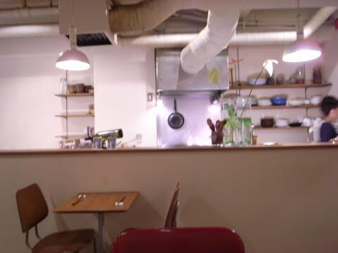 目黒カフェ アントミミ 店内