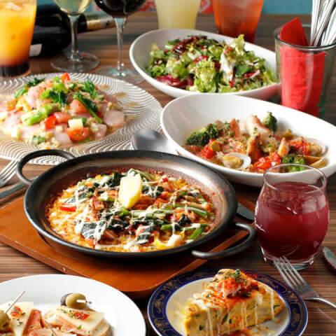 スペインバルアスールの料理画像