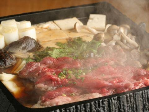 ディナー 肉料理  馬喰ろう 恵比寿 桜鍋