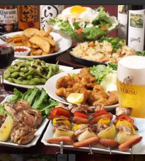 秋葉原 居酒屋 個室肉バル ミートデアキバ 3時間食べ放題&飲み放題コース
