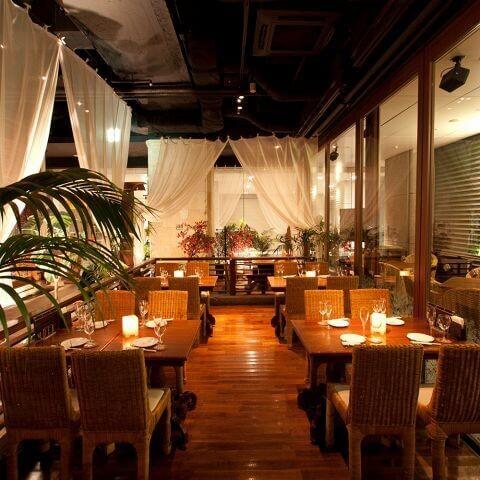 バリラックス ザ ガーデン 新宿ウエスト 新宿 レストラン ランチ ディナー おすすめ エスニック