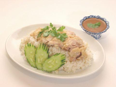 バンコクの鶏ご飯