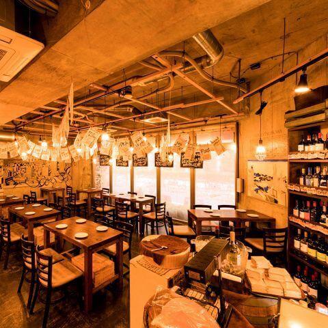 錦糸町の南口のおしゃれで安いおすすめ居酒屋、肉料理、大衆ワイン酒場バルバル