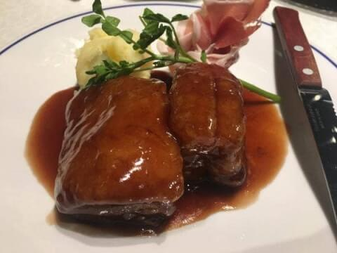 ベルサイユの豚料理画像