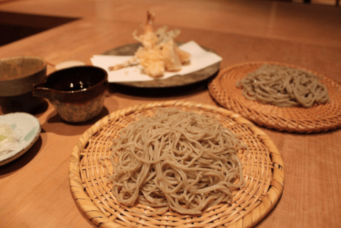 蕎麦や もりいろ 東京 おすすめ 大森町 ビブグルマン