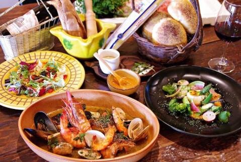 目黒 ディナー フレンチ THEODORA テオドーラ コース料理 ブイヤベース