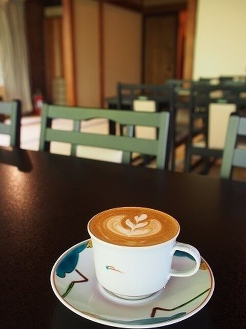 池袋カフェ ぼうず'n coffee ラテ