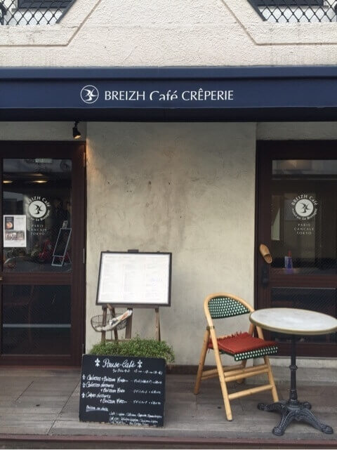 表参道 おすすめ カフェ BREIZH CAFE & CREPERIE