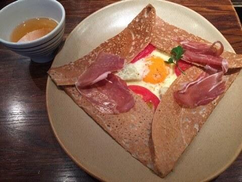表参道 おすすめ カフェ BREIZH CAFE & CREPERIE ガレット