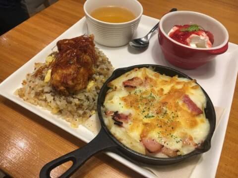 三宮 カフェ Cafe B.T.T ランチ