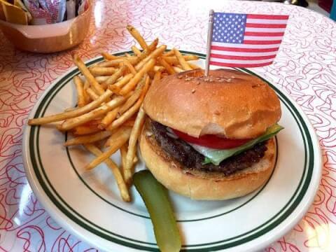 bashibugerのハンバーガー