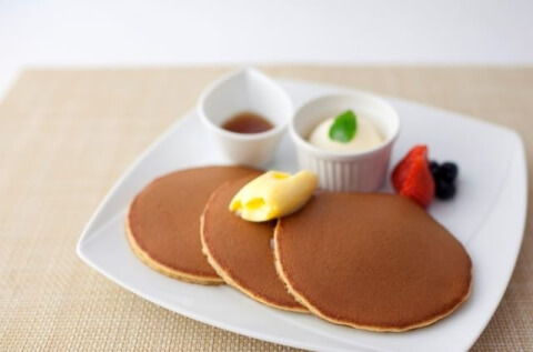 文明堂の三笠パンケーキ