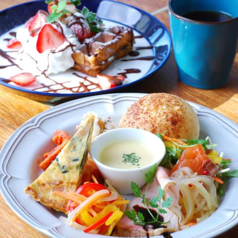 豊橋 ランチ CafeWASHAGANCHI+ カフェ プレートランチ