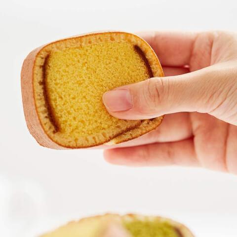 退職のギフトにおすすめのおしゃれなお菓子、文明堂のカステラ巻