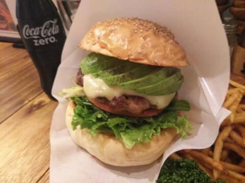 burger kitchen CHATTY CHATTY  新宿 ハンバーガー おすすめ