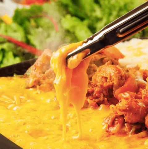 韓国料理 デーハミング新大久保 おすすめ チーズタッカルビ ランチ
