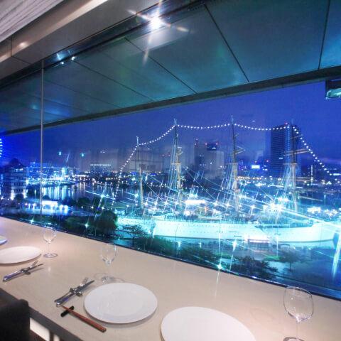 chef's V 横浜ランドマークタワー店 みなとみらい イタリアン ディナー おすすめ 夜景