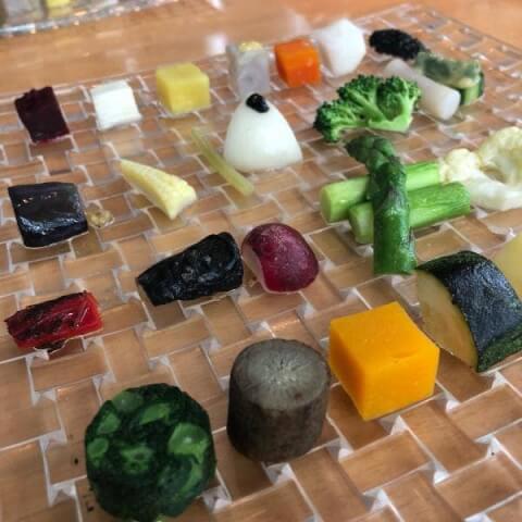 銀座 ディナー フレンチ GINZA chez tomo 料理
