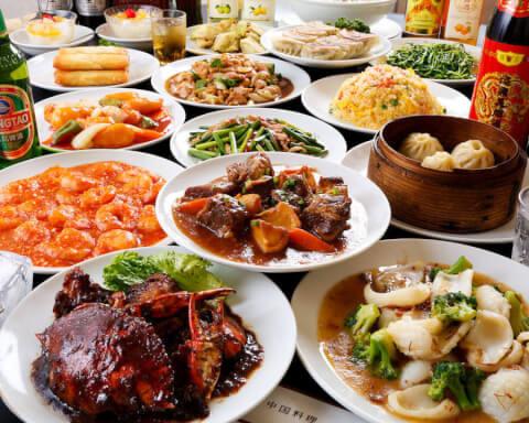 地球飯店の中華