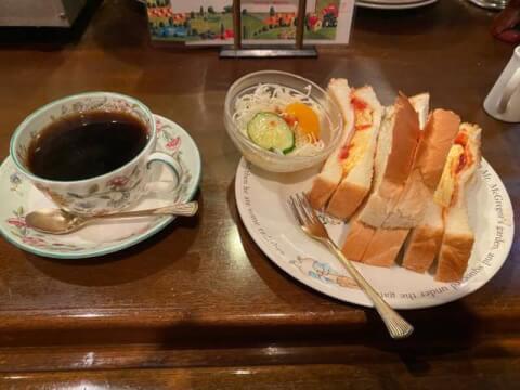 珈琲の森 梅田 モーニング おすすめ 茶屋町