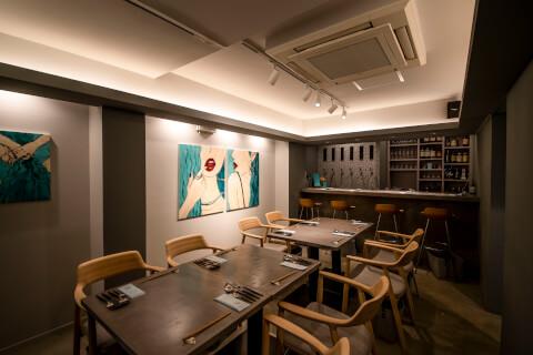 恵比寿 ディナー 和食 Cozakura de Oden 内観