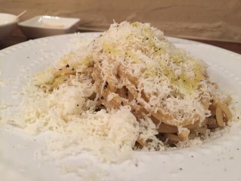 六本木 イタリアン ディナー レストラン cuchina_alla_baba カチョエペペ
