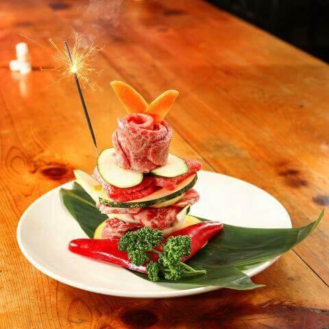 shibuya-yakiniku-daidokoroya-nikuparfeit 肉ケーキ 渋谷 焼肉