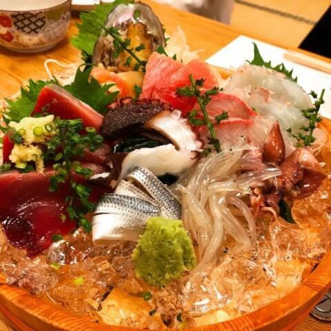 キンキの煮つけ 第二力酒蔵 中野 居酒屋 海鮮 魚介 和食