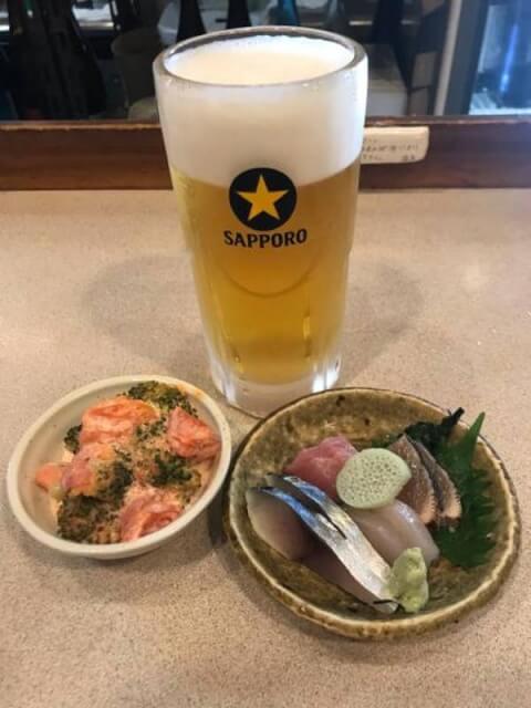 お得セット 金山 居酒屋 大安 東口 安い コスパ 和食 海鮮 魚介 おすすめ