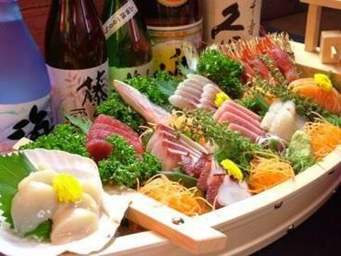だるま 高田馬場 居酒屋 海鮮 魚介 安い 宴会 個室