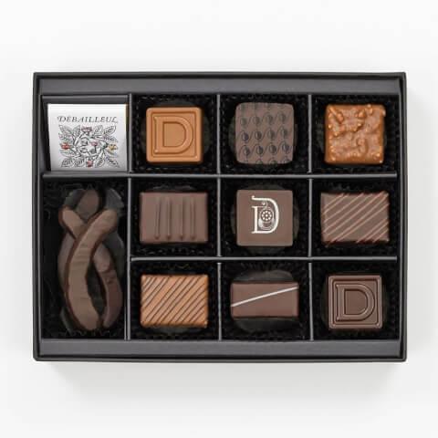 ドゥバイヨル セレクション ド プラリネ バレンタイン チョコレート 自分 ご褒美